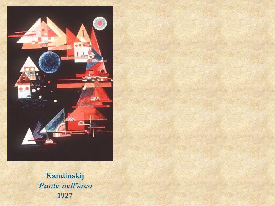Kandinskij Punte nell'arco 1927