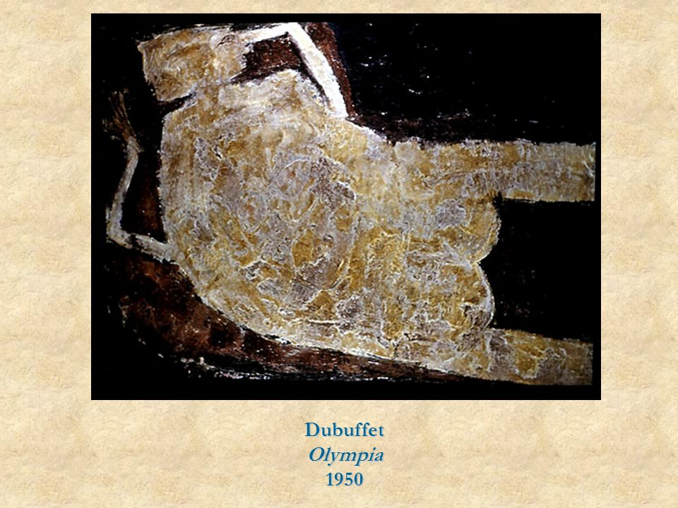 Dubuffet Olympia 1950