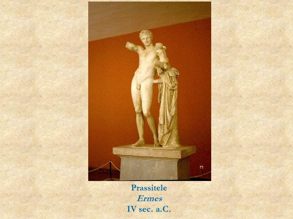 Prassitele Ermes IV sec. a.C.