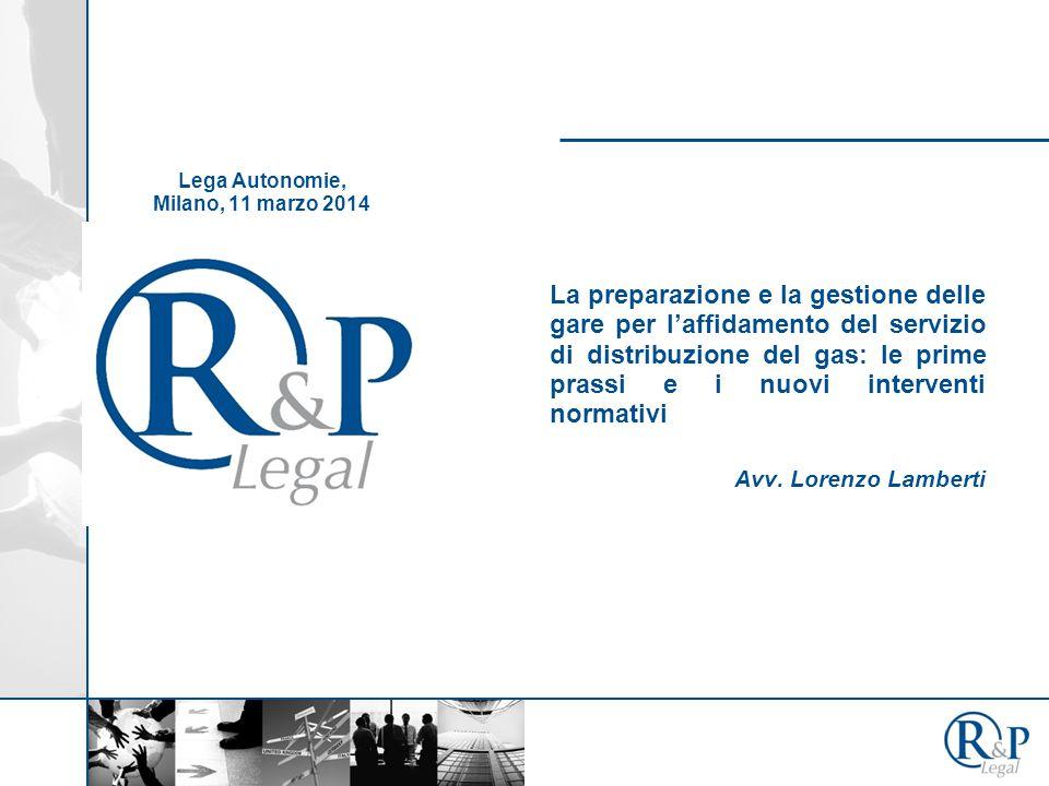 La preparazione e la gestione delle gare per l'affidamento del servizio di distribuzione del gas: le prime prassi e i nuovi interventi normativi