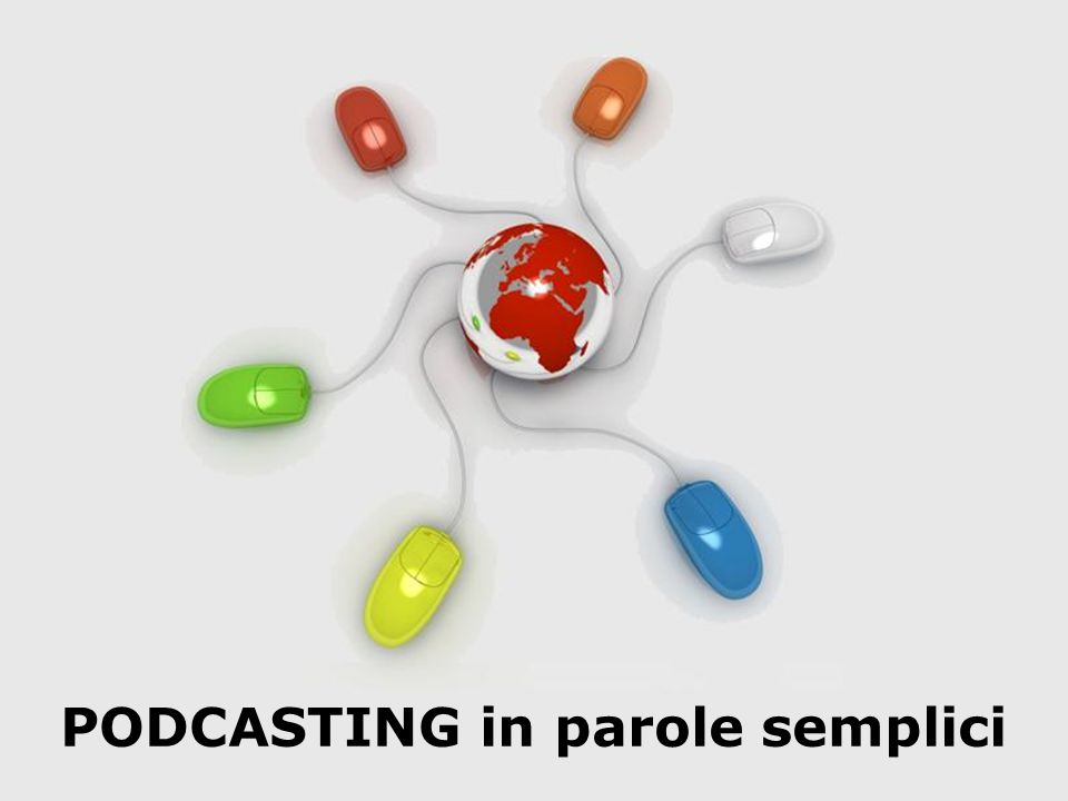 PODCASTING in parole semplici