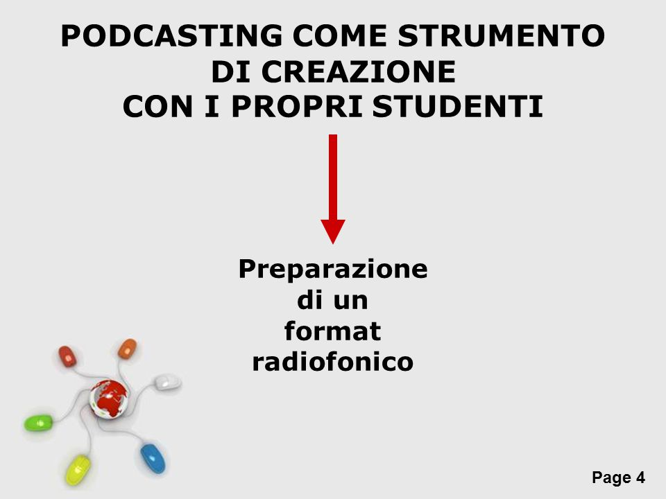 PODCASTING COME STRUMENTO