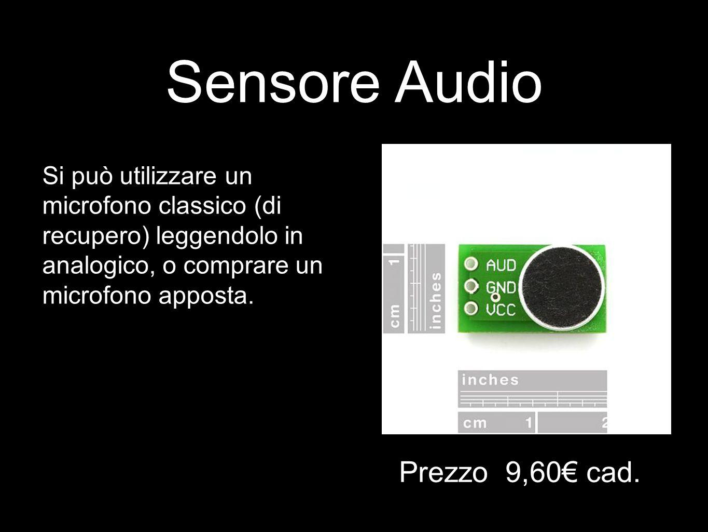 Sensore Audio Prezzo 9,60€ cad.
