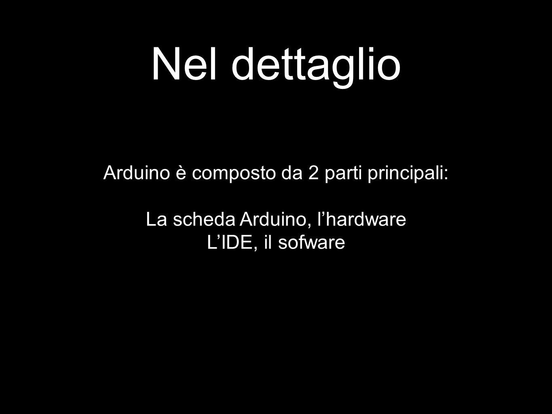 Nel dettaglio Arduino è composto da 2 parti principali:
