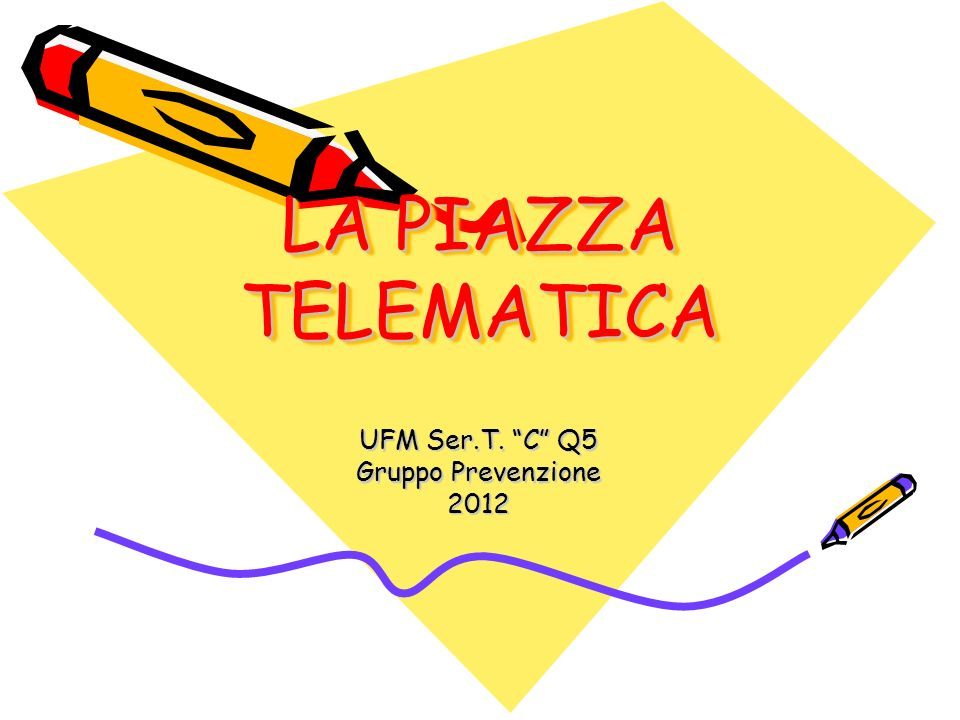 UFM Ser.T. C Q5 Gruppo Prevenzione 2012