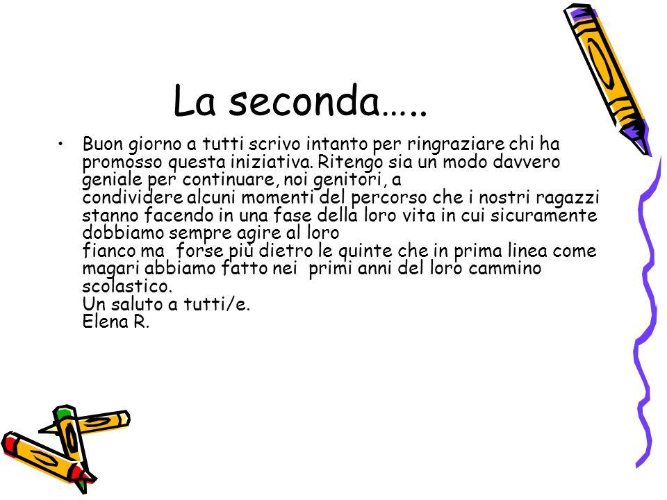 La seconda…..