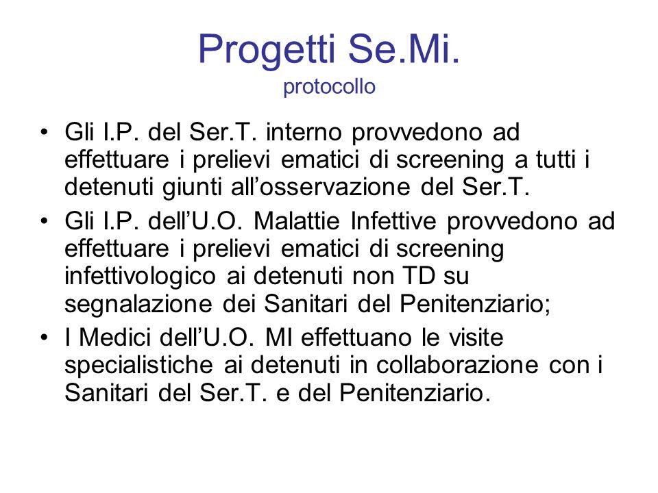 Progetti Se.Mi. protocollo