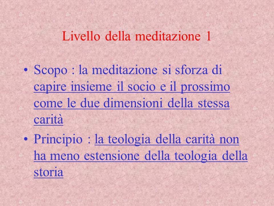 Livello della meditazione 1