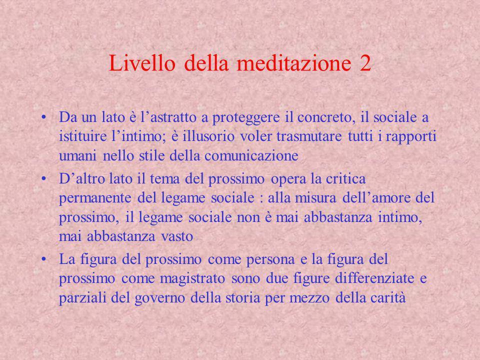 Livello della meditazione 2