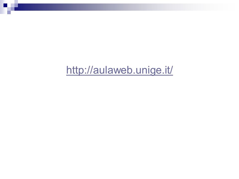 http://aulaweb.unige.it/