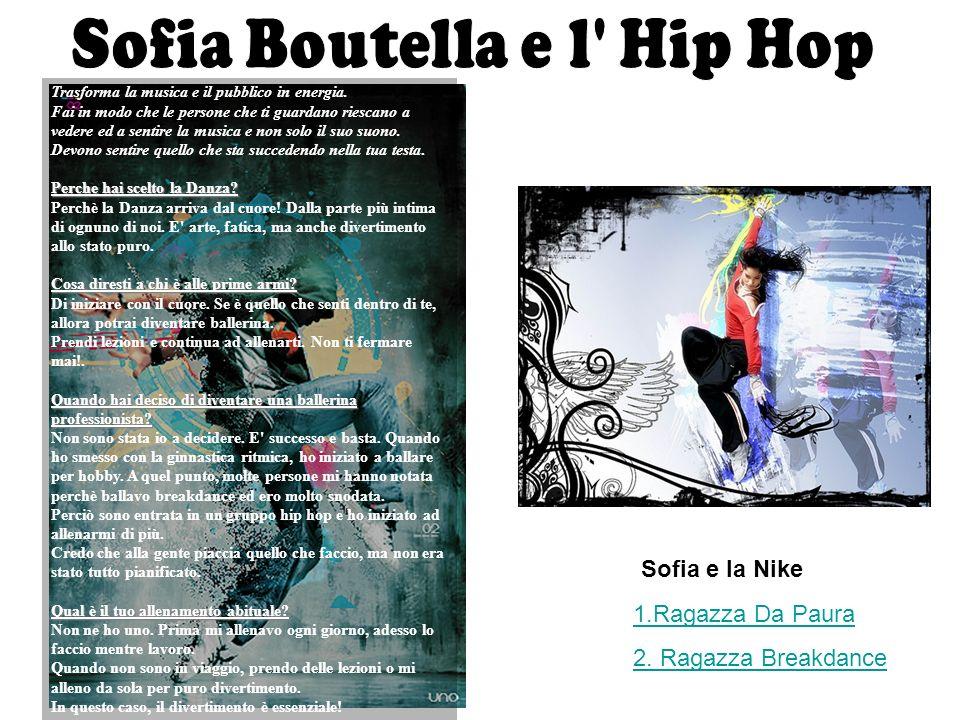 Sofia Boutella e l Hip Hop