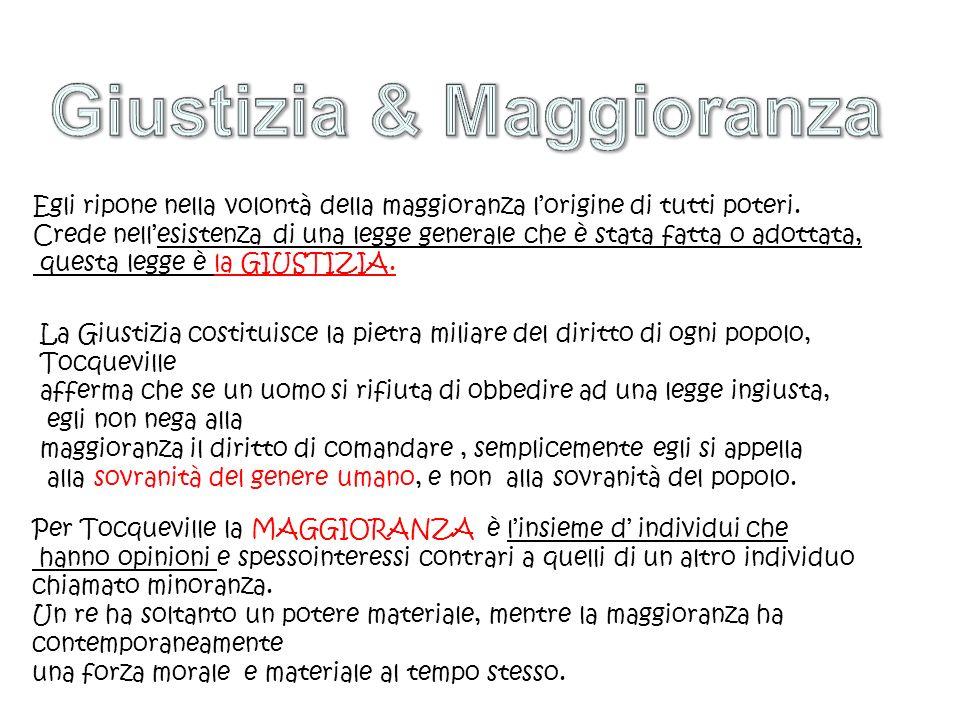 Giustizia & Maggioranza