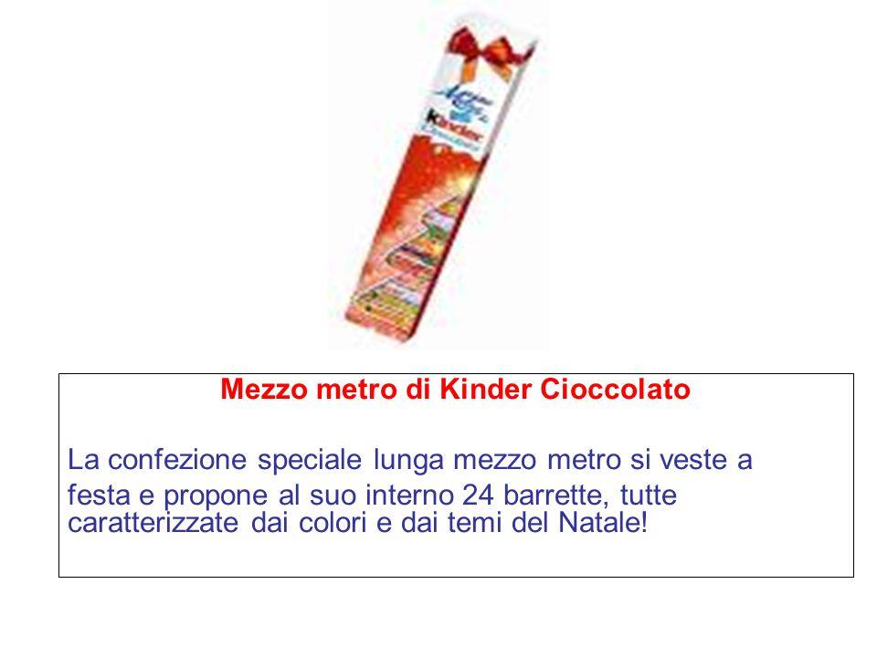 Mezzo metro di Kinder Cioccolato