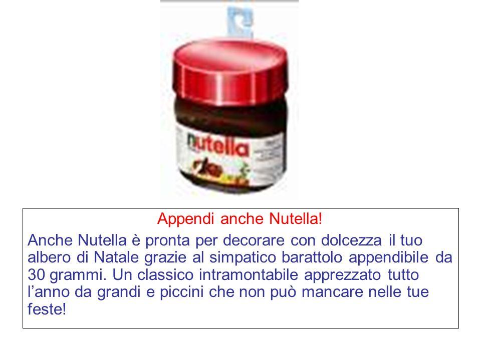 Appendi anche Nutella!