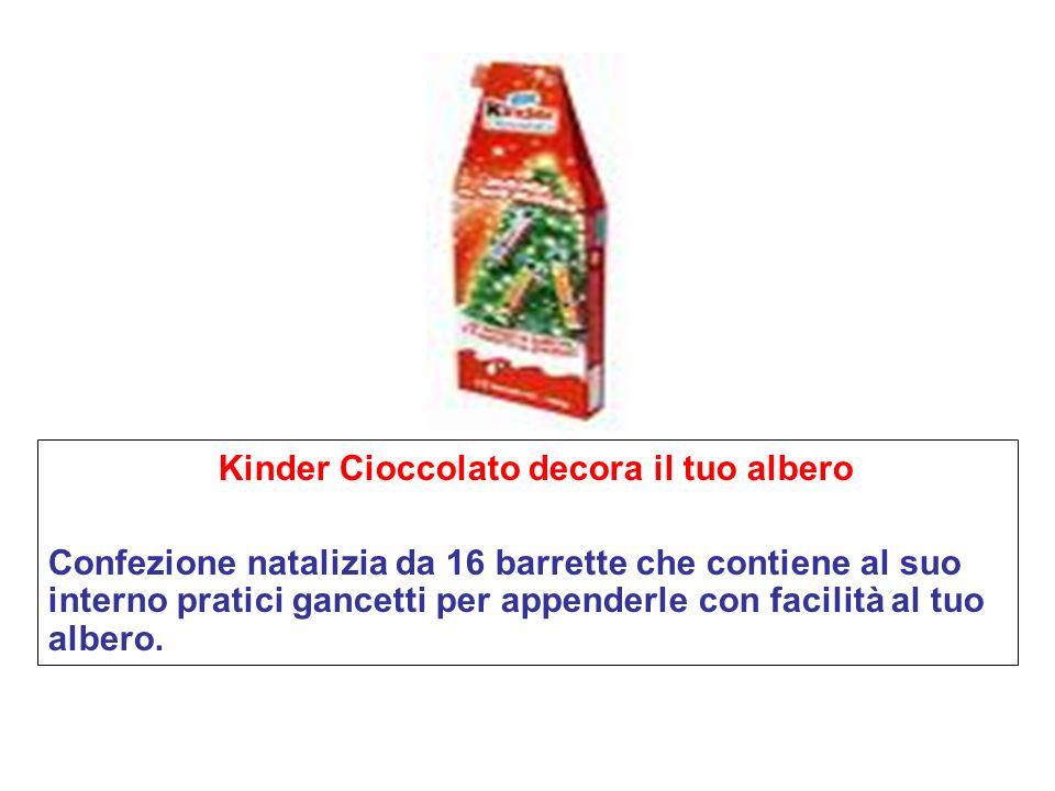 Kinder Cioccolato decora il tuo albero