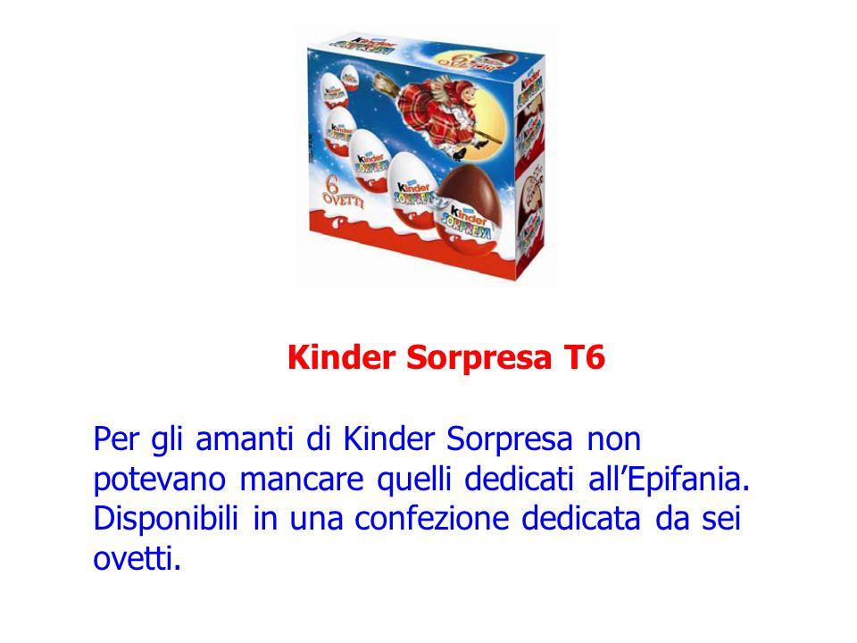 Kinder Sorpresa T6 Per gli amanti di Kinder Sorpresa non potevano mancare quelli dedicati all'Epifania.