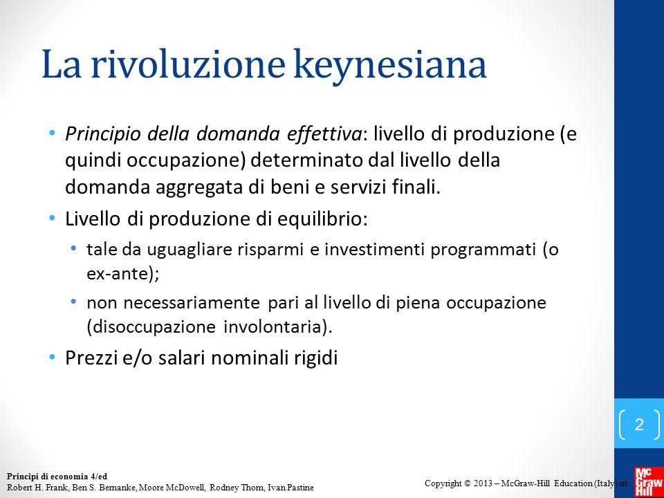 La rivoluzione keynesiana