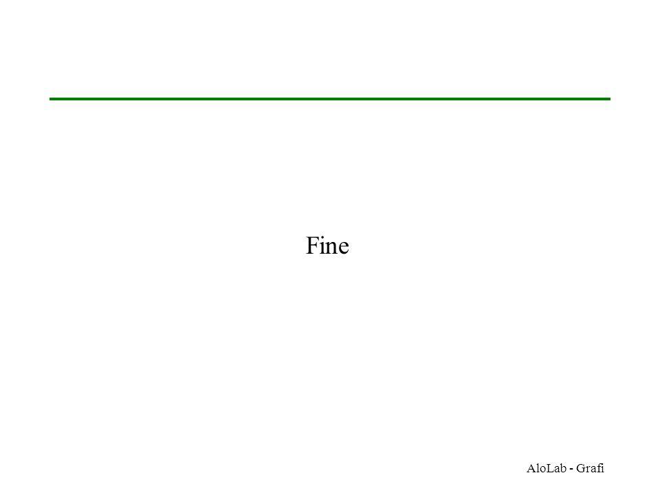Fine AloLab - Grafi