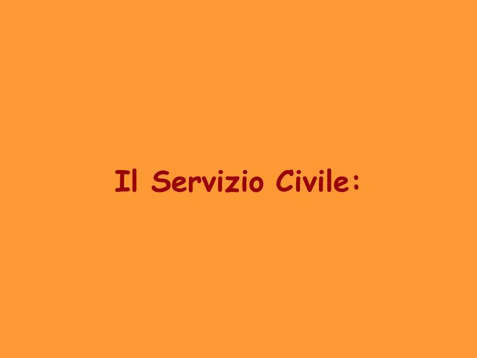Il Servizio Civile: