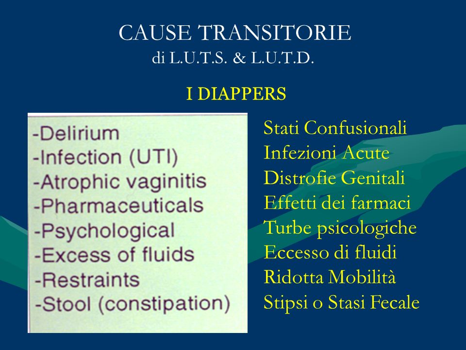 CAUSE TRANSITORIE di L.U.T.S. & L.U.T.D.