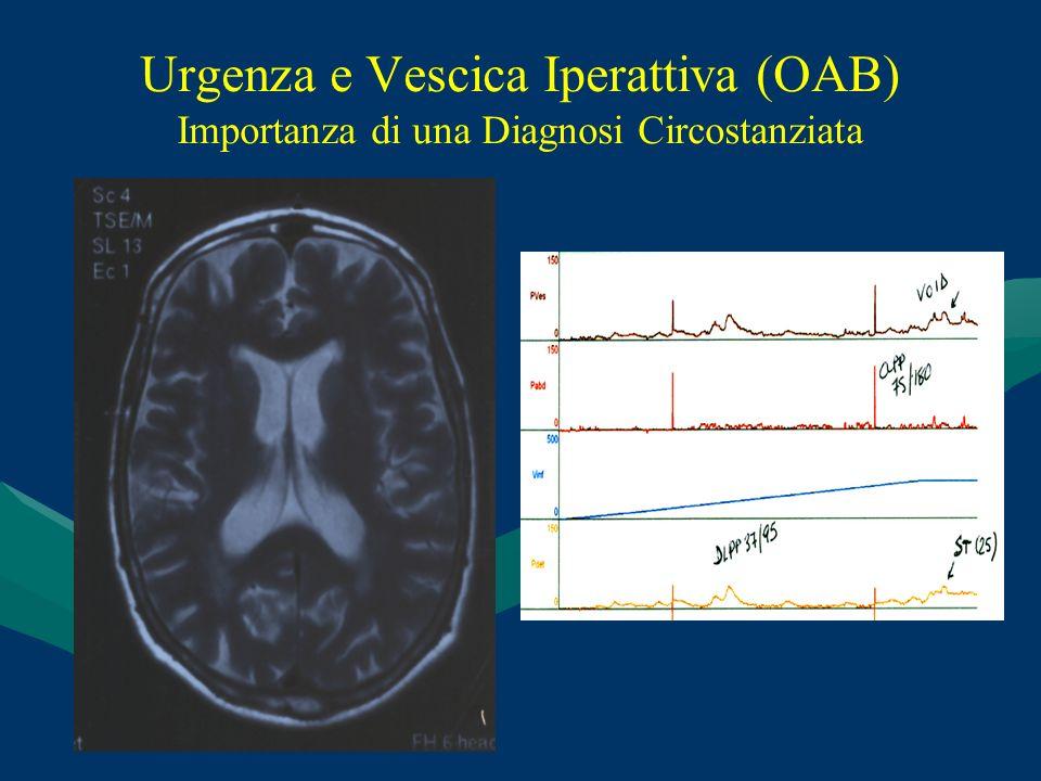 Urgenza e Vescica Iperattiva (OAB) Importanza di una Diagnosi Circostanziata