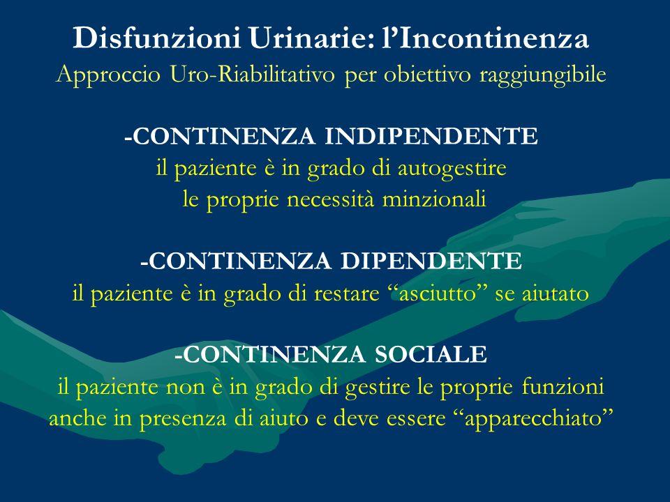 Disfunzioni Urinarie: l'Incontinenza