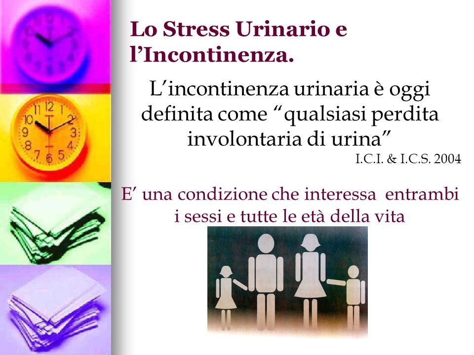 Lo Stress Urinario e l'Incontinenza.