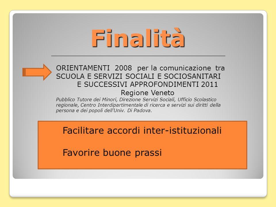 E SUCCESSIVI APPROFONDIMENTI 2011 Regione Veneto