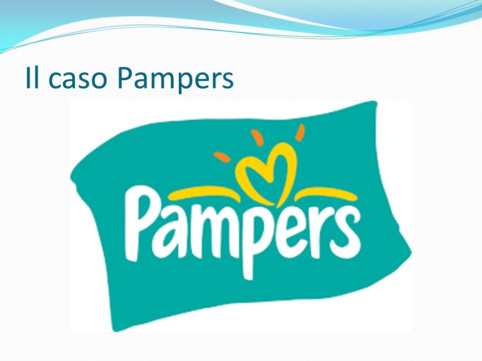 Il caso Pampers