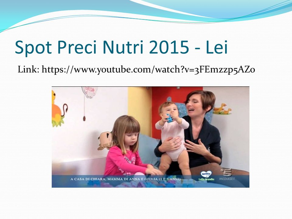 Spot Preci Nutri 2015 - Lei Link: https://www.youtube.com/watch v=3FEmzzp5AZ0