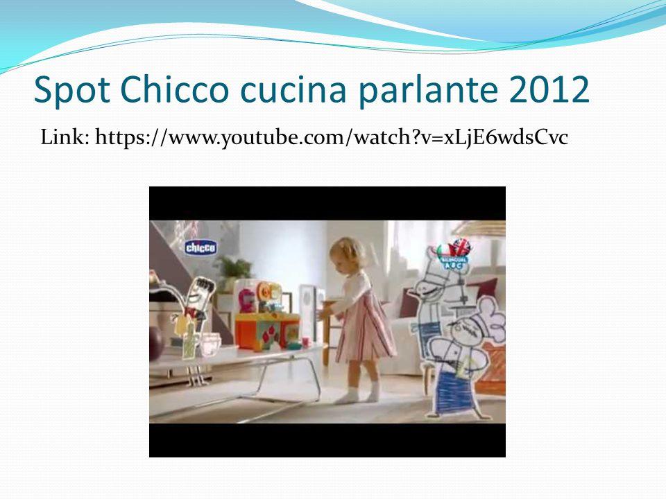 Spot Chicco cucina parlante 2012