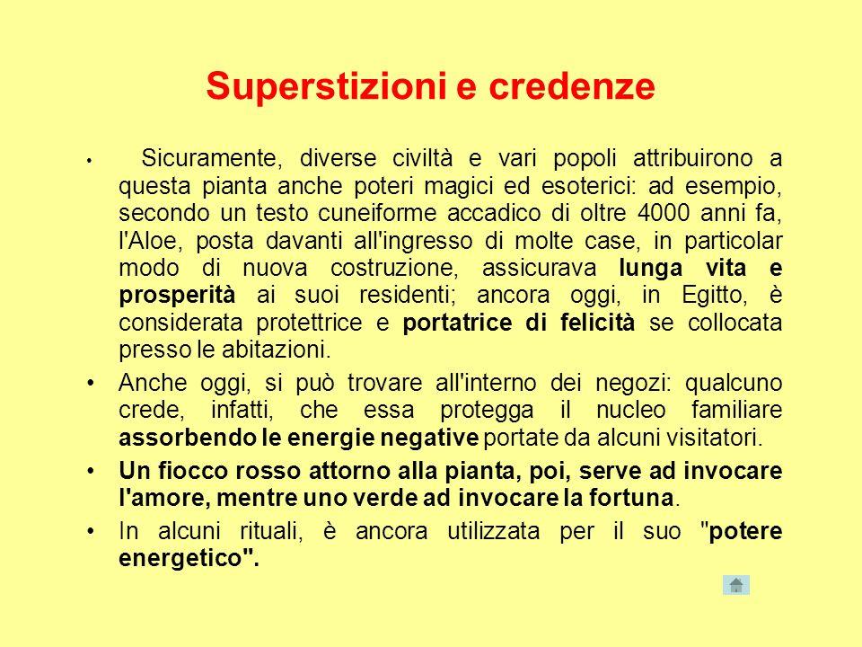 Superstizioni e credenze