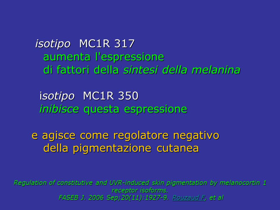 FASEB J. 2006 Sep;20(11):1927-9. Rouzaud F, et al