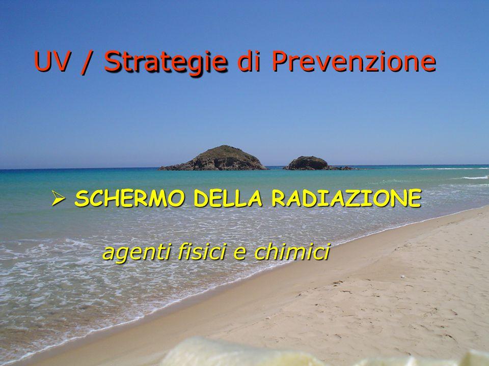 UV / Strategie di Prevenzione
