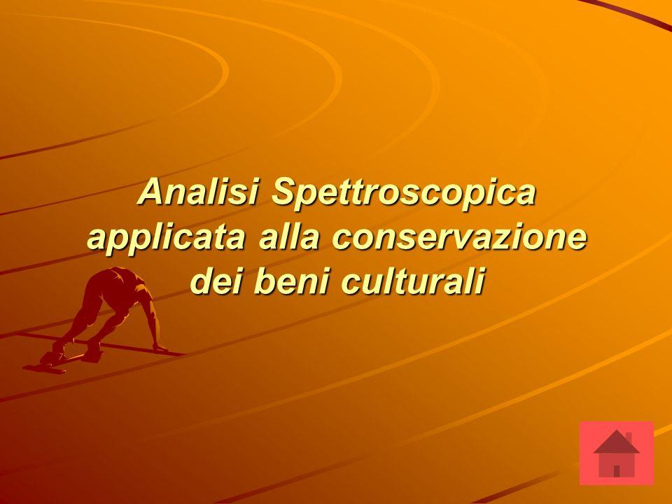 Analisi Spettroscopica applicata alla conservazione dei beni culturali