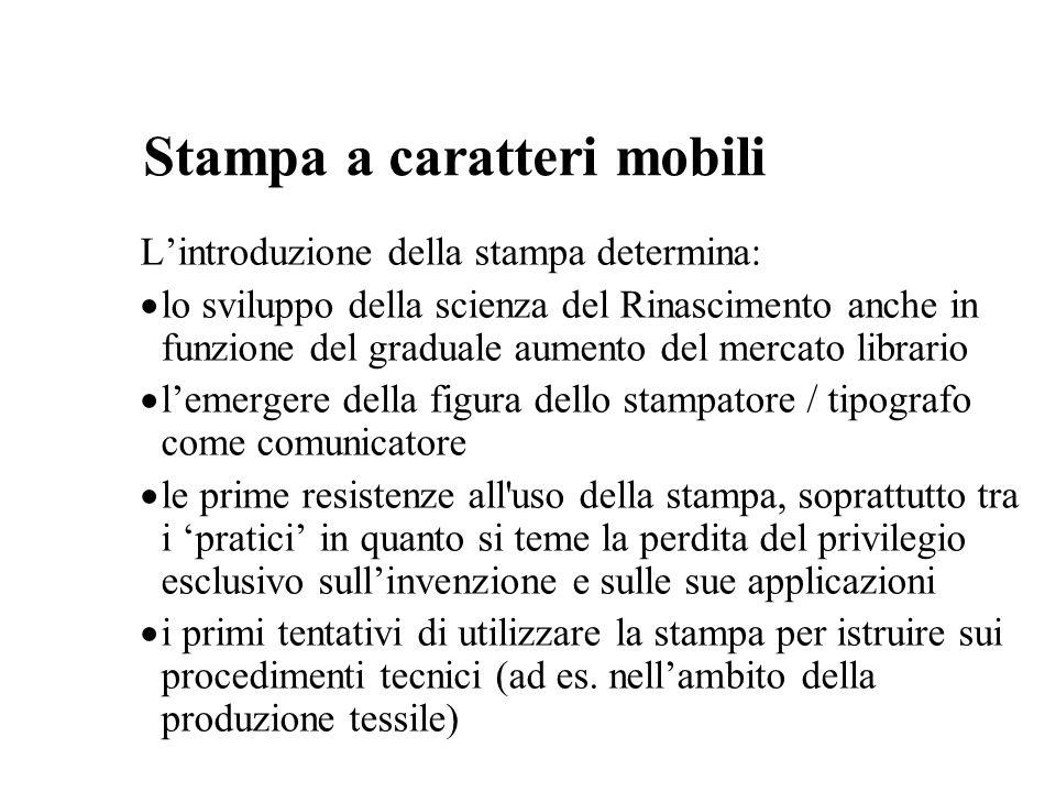 Stampa a caratteri mobili