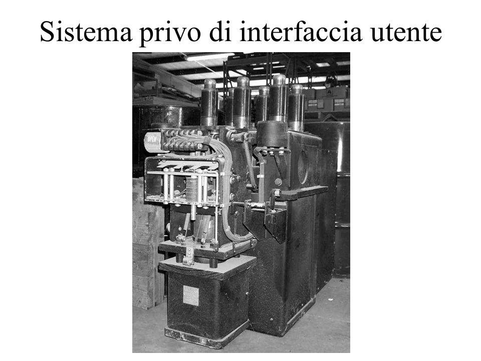 Sistema privo di interfaccia utente