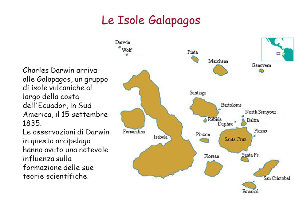 Le Isole Galapagos