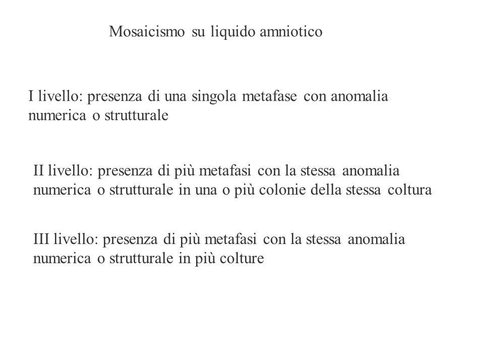 Mosaicismo su liquido amniotico
