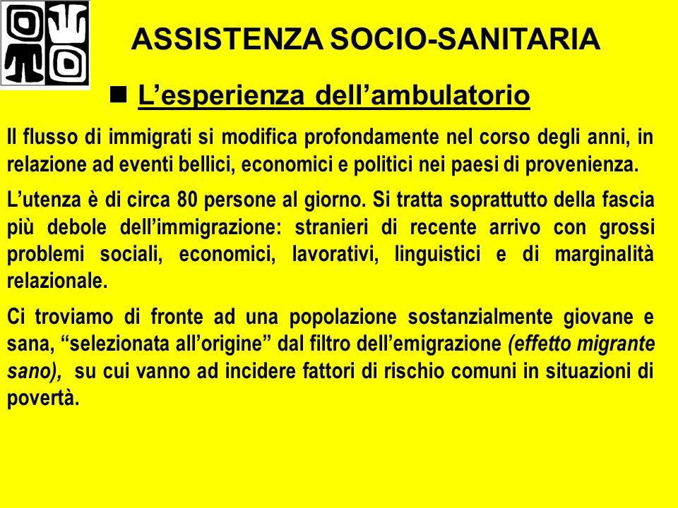 ASSISTENZA SOCIO-SANITARIA