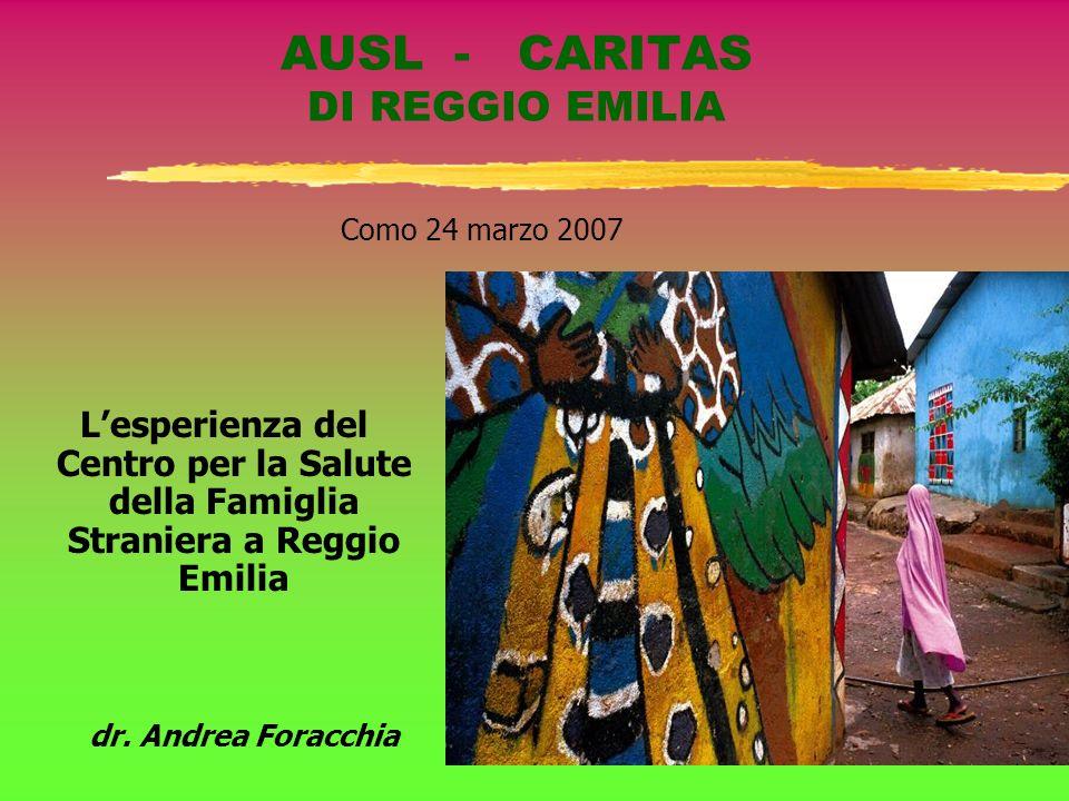 AUSL - CARITAS DI REGGIO EMILIA