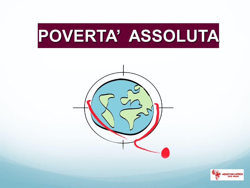 POVERTA' ASSOLUTA