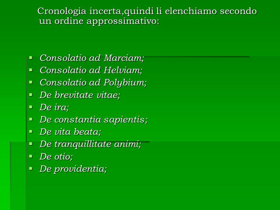 Cronologia incerta,quindi li elenchiamo secondo un ordine approssimativo: