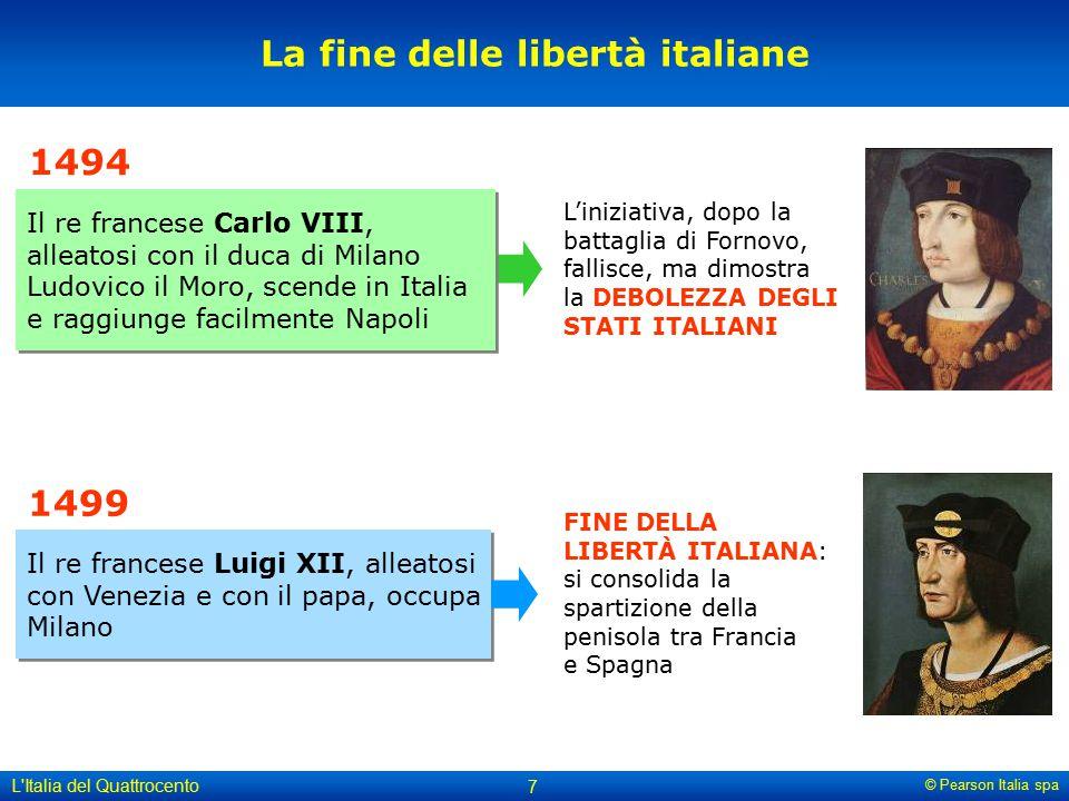 La fine delle libertà italiane