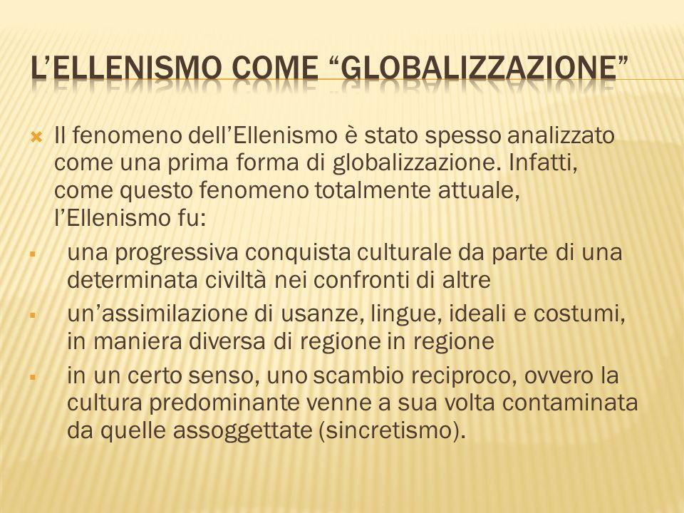 L'Ellenismo come Globalizzazione
