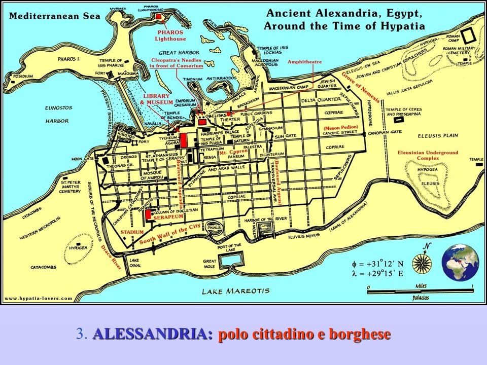 3. ALESSANDRIA: polo cittadino e borghese