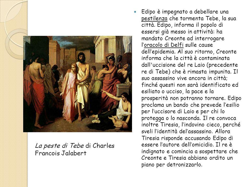 La peste di Tebe di Charles Francois Jalabert