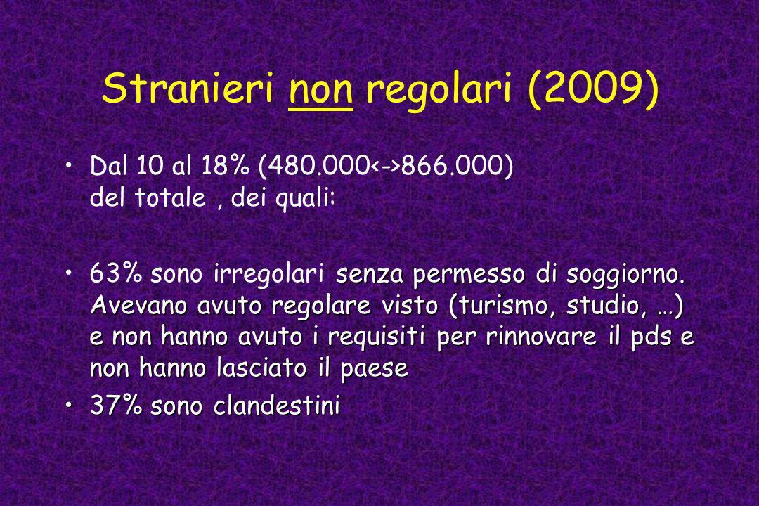 Stranieri non regolari (2009)