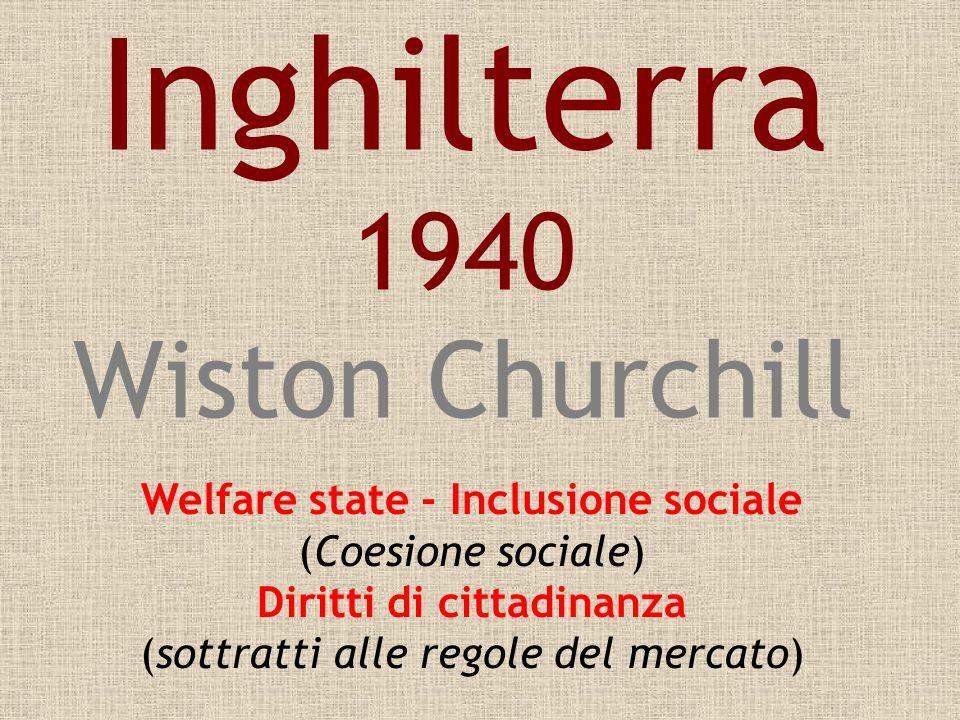 Inghilterra 1940 Wiston Churchill