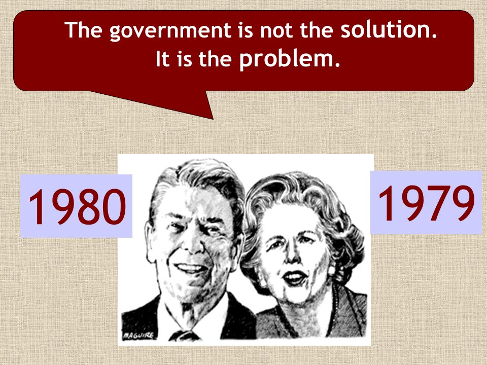 The government is not the solution.